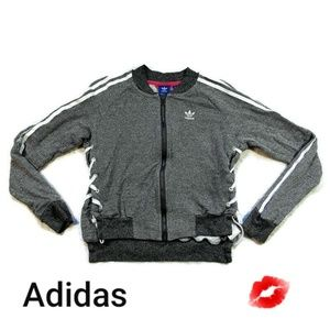 Adidas Full Zip Sweater logo on the front Size XS
